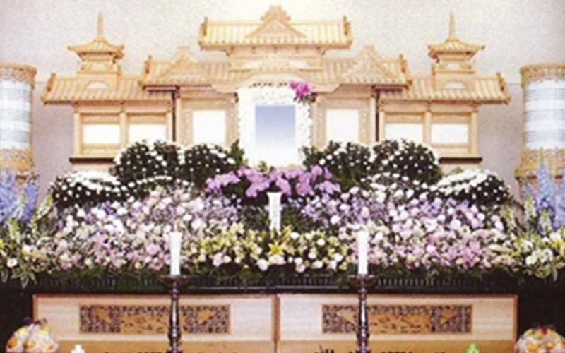 和洋生花祭壇