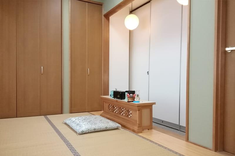 親族宿泊控室
